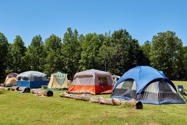 Tent Camping at Jellystone