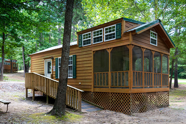 Cabins at Jellystone Park