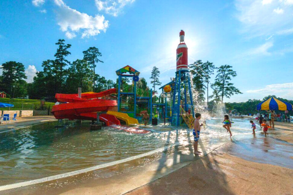 Jellystone Park™ Pelhatchie Pool, Splash Park